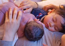 早期母子接触(カンガルーケア)